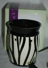 Scentsy ZEBRA Electric Candle Warmer Full Size Retired MIB