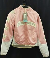 NEW ICON Pink Hooligan54 Jacket Large Ref 2822-0084 See Listing