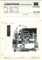 GRUNDIG - CUC 7302 - Service Manual Anleitung - H-5404