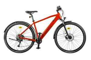 ECONIC ONE URBAN  Electric Hybrid e Bike NEW MEDIUM RED