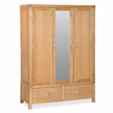 Contemporary Wood Wardrobes with 3 Doors