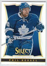 PHIL KESSEL 2013-14 Panini Select Hockey Prizm Card #44 Maple Leafs N14