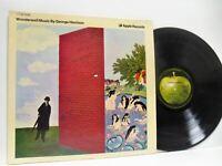 GEORGE HARRISON wonderwall music LP EX+/EX, 2C066-90490, vinyl, album, psych,