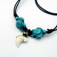 NEW REGGAE SHARK TOOTH NECKLACE hippie sharks jewelry novelty mens ladies unisex