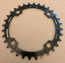 E*Thirteen The Hive 32T Chainring 104 BCD 4-Bolt 9/10/11 Speed Black Brand New