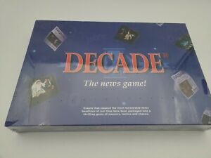 Decade The News Game! Board Game Brand New Sealed 1999