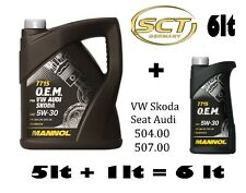 5lt +1lt = 6lt MANNOL GERMANY OEM 7715 LONGLIFE 3 Engine Oil 5w/30 504.00 507.00