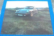 Porsche 911 Coupe 1974 1975 1976 1977 Dealer Showroom Poster