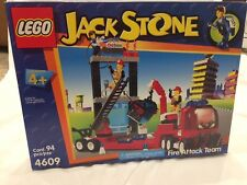 NEW Lego Juniors Town Jack Stone 4609 Fire Attack Team Unsealed