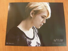 KIM JAE JOONG JYJ - WWW (Repackage) [OFFICIAL] POSTER K-POP *NEW* JAEJOONG