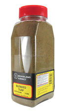 T1350 Woodland Scenics Blended Turf Earth Blend Shaker 57.7 in³ TMC
