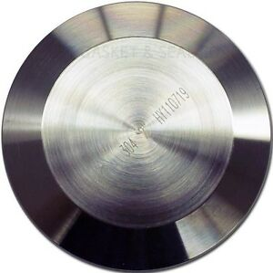 """TRI CLAMP 2"""" 304 STAINLESS SOLID END CAP TRI CLOVER TC"""