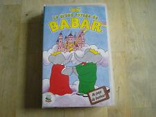 cassette vhs le grand voyage de babar au pays du bonheur