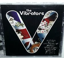 THE VIBRATORS Sealed CD The Early Years Cleopatra Records PUNK MC5 The Dickies