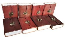 Leather Journal Handmade Vintage Diary Blank Notebook Book Notebook Lot of 8