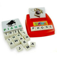 Early Children's Educational Toys Fun Learning English Spell the Word Game Gifts