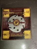 Vintage Delta Rockwell Molding Cutter Head & Knife Set For Arbor Saw