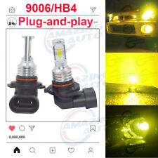 2x 9006 HB4 LED Headlight Bulbs Kit Low Beam Fog Light 100W 9200lm 3000K Yellow