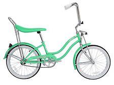 """Micargi 20"""" Lowrider Beach Cruiser Bicycle Bike Low Rider Girls frame Mint Green"""