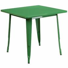 Flash Furniture Square Metal Indoor-Outdoor Table
