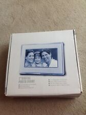 7 inch digital photo frame with instructions, cable & original box