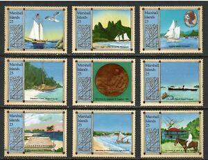 Marshall Islands # 190a through # 190i , Stevenson , F-VF OG NH - I Combine S/H