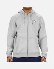 ae7eb7e5c9b1 Fila Sports Men s TENCONI HOODED SWEATSHIRTS Grey LM171YB3-289 b Size XL