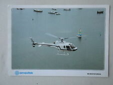 DOCUMENT PUBLICITAIRE HELICOPTERE AEROSPATIALE AS 350 B ECUREUIL HELI BRETAGNE