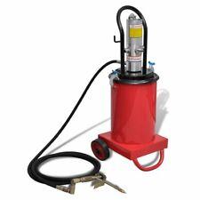 vidaXL Bomba de Engrase con Aire a Presión 12 L Inyector de Engrase Neumático