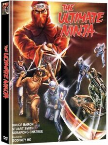 Ultimate Ninja DVD x 2 Mediabook WMM Godfrey Ho 1986 action thriller