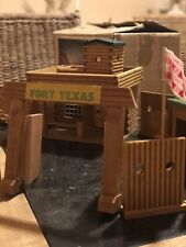 GDR (Oost-Duitsland) VERO Wild West Wood Holz Cowboy Fortification Fort Texas