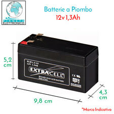 BATTERIA ERMETICA PIOMBO RICARICABILE SKB 1,3 A Ah 12 V UPS ELETTRONICA GENERALE