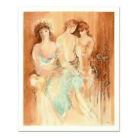 """Batia Magal - """"Aristocrats"""" Limited Edition Serigraph, Numbered and Hand Signed!"""