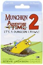 USAopoly Munchkin Adventure Time 2 It's a Dungeon Crawl
