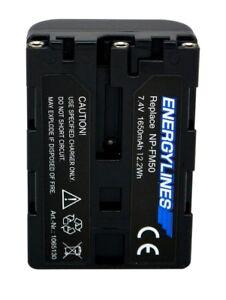 Accu Batterie Pour Sony NP-FM30; NP-FM50; NP-FM51;NP-QM50; NP-QM51 Energylines