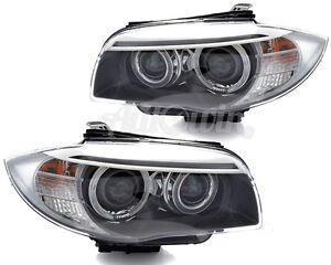 BMW 1 SERIES E82/E88/E87/E81 LCI HEADLIGHT LH & RH BI-XENON ASSEMBLED GENUINE