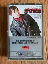 THE ANIMALS - Cassette Tape - THE GREATEST HITS - Eric Burdon