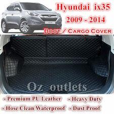 Tailor Made PU Leather Trunk Boot Liner Cargo Mats Cover Hyundai ix35 09 - 2014