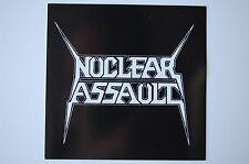 Nuclear Assault Sticker Decal (311) Metal Rock Testament Excel Car Bumper Window