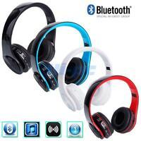 Wireless Bluetooth Foldable Headset V3.0 EDR Stereo Wear Type Headphone Earphone