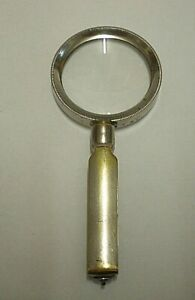 Antique French Loupe With Folding Handle (BC)