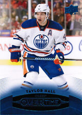 15/16 UD OVERTIME HOCKEY WAVE 3 BLUE PARALLEL CARDS (#121-180) U-Pick From List