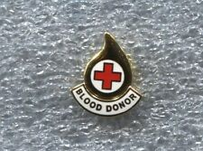 RED CROSS BLOOD DONOR PIN, New