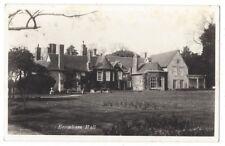 BROMHAM HALL Bedfordshire, RP Postcard Unused
