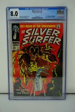 MARVEL COMICS CGC 8.0 SILVER SURFER 3 12/68 OFF-WHITE TO WHITE PAGES
