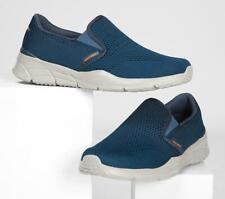 SKECHERS Men's Equalizer 4.0 - Triple-Play Running/Walking Shoes in Navy/Orange