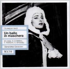 CallasDi StefanoBastianiniSimionato Scala - Un Ballo in Maschera [CD]