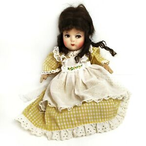 """Gre-Poir Cloth Doll 1920s 1930s Rare Antique Vintage 16"""" Cotton Jointed French"""