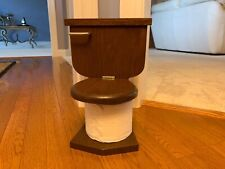 Solid Wood Toilet Paper Holder