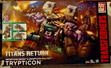 Transformers Generations Titans Return Trypticon with Full-Tilt & Necro New MISB